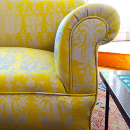 Aloe Yellow Bespoke Sofa