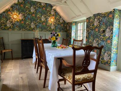 Ardmore Wallpaper in Kitchen