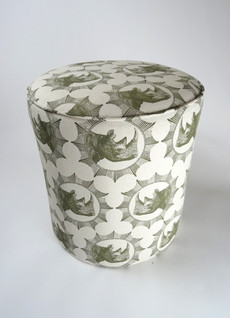 Rhino Fabric Bespoke Drumstool