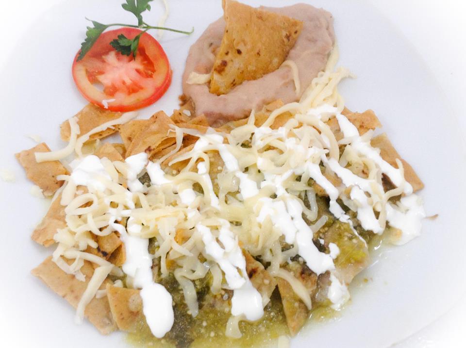 Chilaquiles Verdes