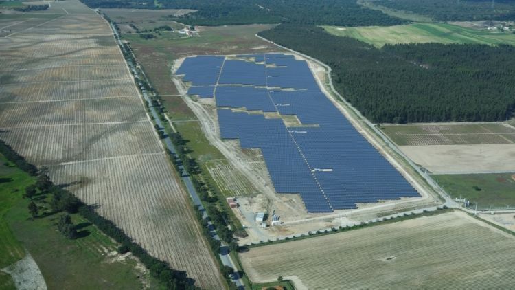 מערכת סולארית קרקעית בפורטוגל