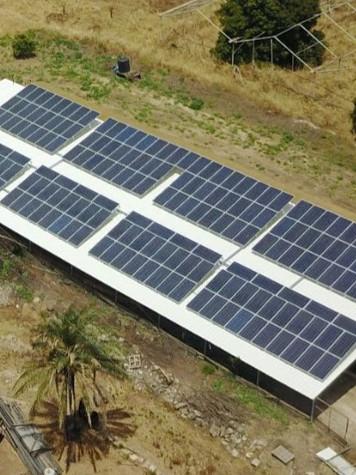 מערכת סולארית בנחלה
