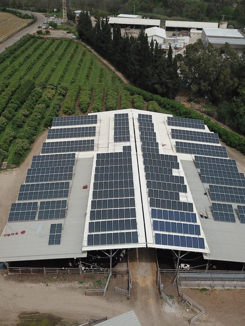 מערכת סולארית בבית הלל