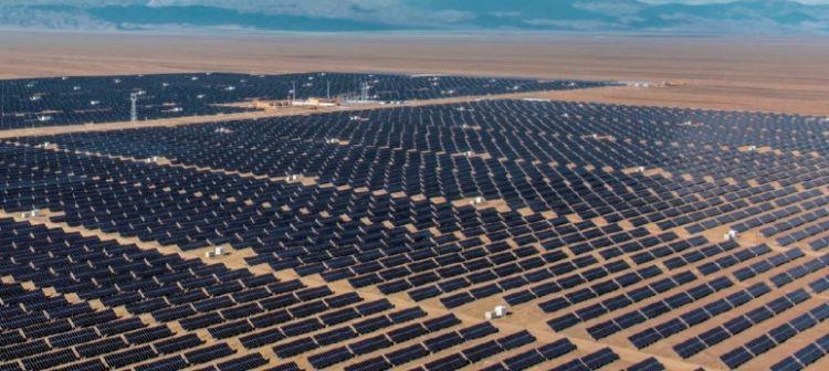 מערכת סולארית קרקעית בסין