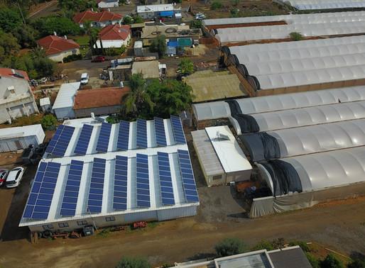 חדשות נפלאות: מי שגר מעבר לקו הירוק כבר לא צריך להוציא היתר בניה למערכת סולארית