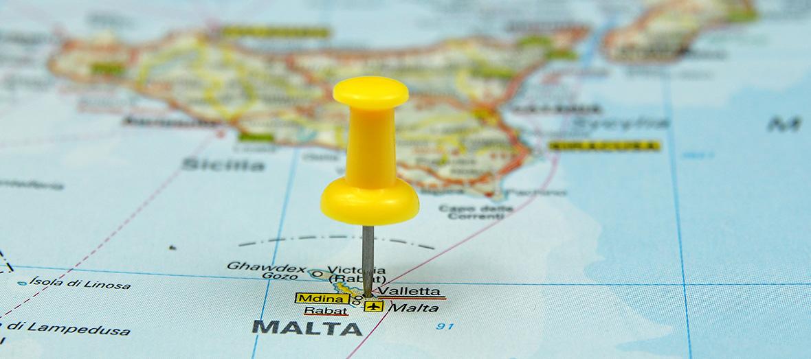 Malta e o centro de negócios