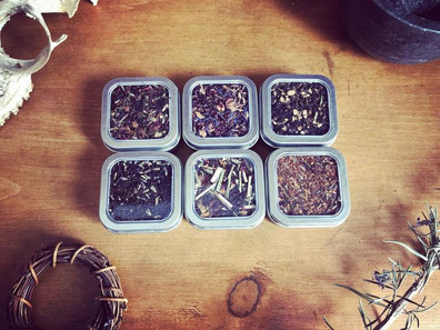 Tea Time with Blackthorn Hoodoo Blends