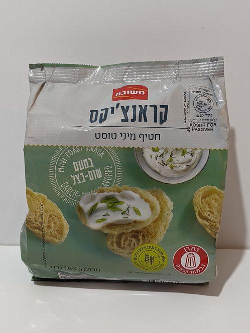 Meshubach Crunchiks -Garlic Onion