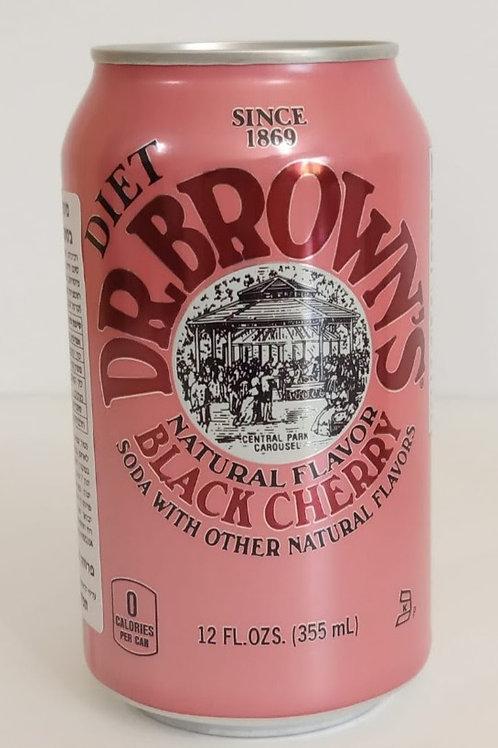 Dr. Brown's Diet Black Cherry