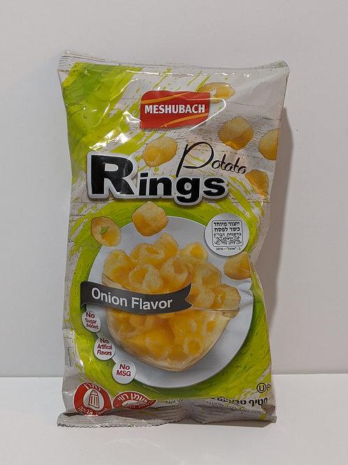 Meshubach Potato Rings - Onion Flavor