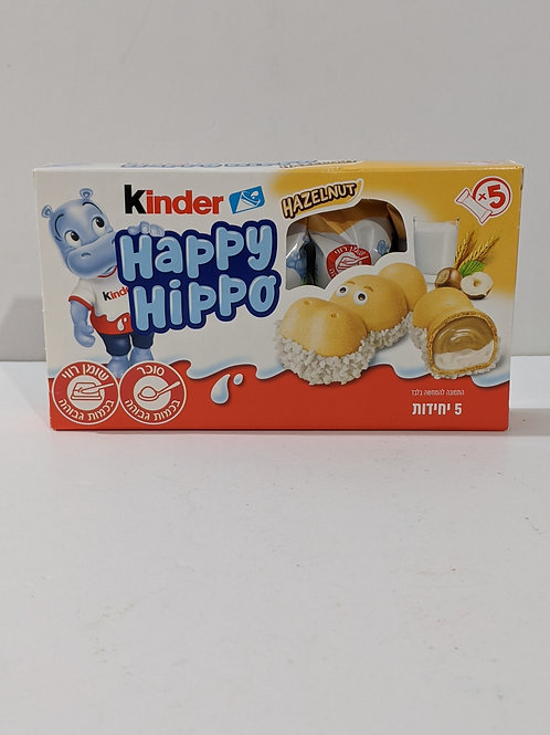 Kinder Happy Hippo Hazelnut 5-Pack
