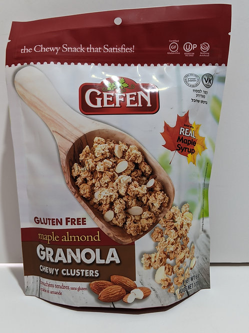 Gefen Maple Almond Granola Chewy Clusters