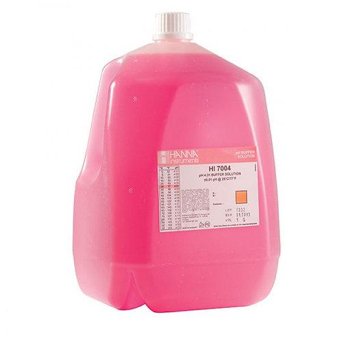 HI-7004/1G pH 4.01 Buffer Solution, 1 Gallon bottle