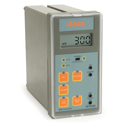 HI-8720 Panel mounted ORP analogue controller with self-diagnostic test