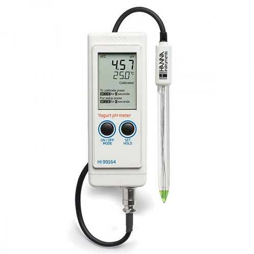 HI-99164 Portable pH/Temperature Meter for Yogurt Analysis