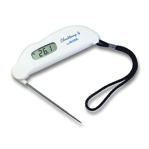 HI-151-02 Checktemp4®folding thermometer, -50.0 to +150.0°C