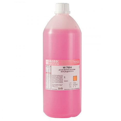 HI-7004/1L pH 4.01 Buffer Solution, 1L bottle