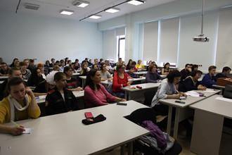В рамках университетских суббот профессор А.П.Алексеев провел мастер-класс по аргументации и ораторс
