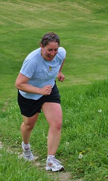 sue running uphill.JPG