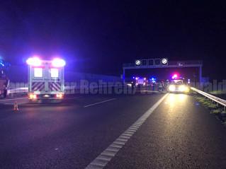 Verkehrsunfall eingeklemmt, mehrere Fahrzeuge, A2 Richtung Hannover