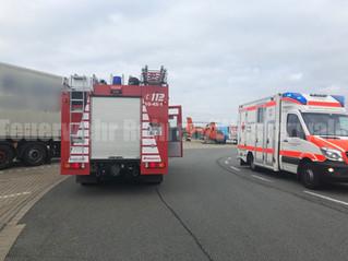 Tragehilfe Rettungsdienst, A2, Raststätte Auetal Süd