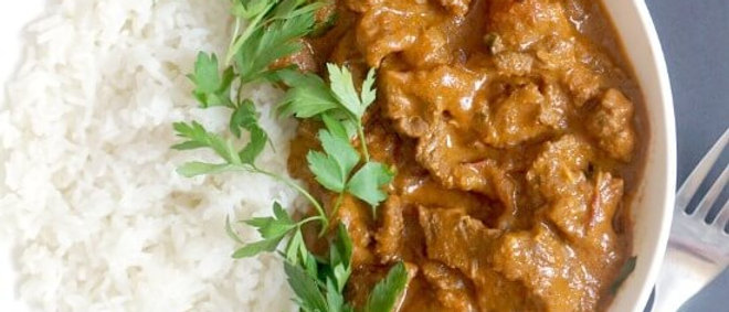 Beef Curry and Rice 8