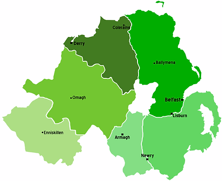 Map of Doors Direct NI Location