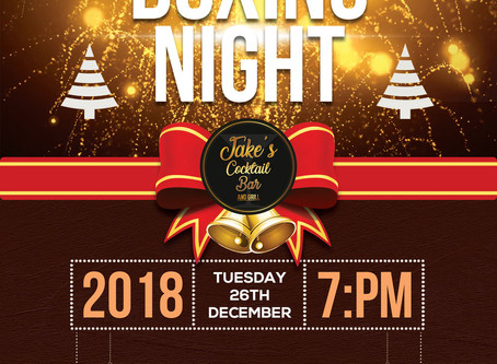 What to do on Boxing Night???