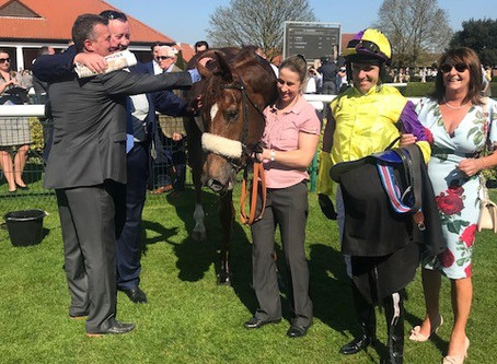 Brando Gains a second victory in the Group 3 Abernant Stakes