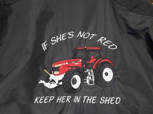 If She's Not Red