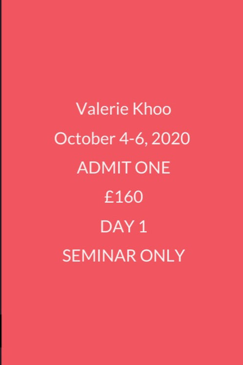 Day 1 Seminar Only Ticket