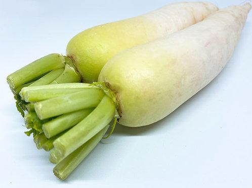 Lobak Putih Organik