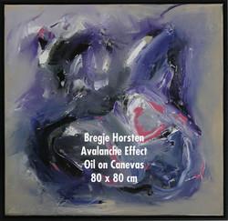 Bregje Horsten Avalanche Effect Oil on C