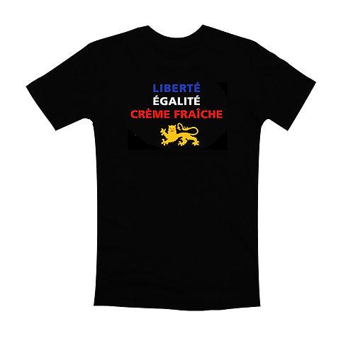 TEE-SHIRT NOIR -  PATRIOTE NORMAND / CLASSIQUE/ FEMME / ENFANT