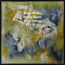 Bregje Horsten Dancing Queens  Oil on Ca
