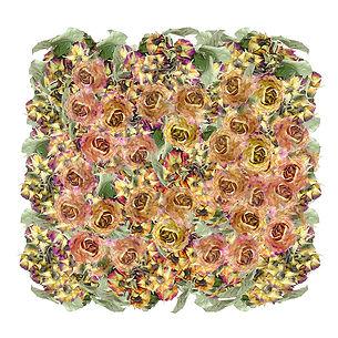 Les Roses 50 x 50 cm