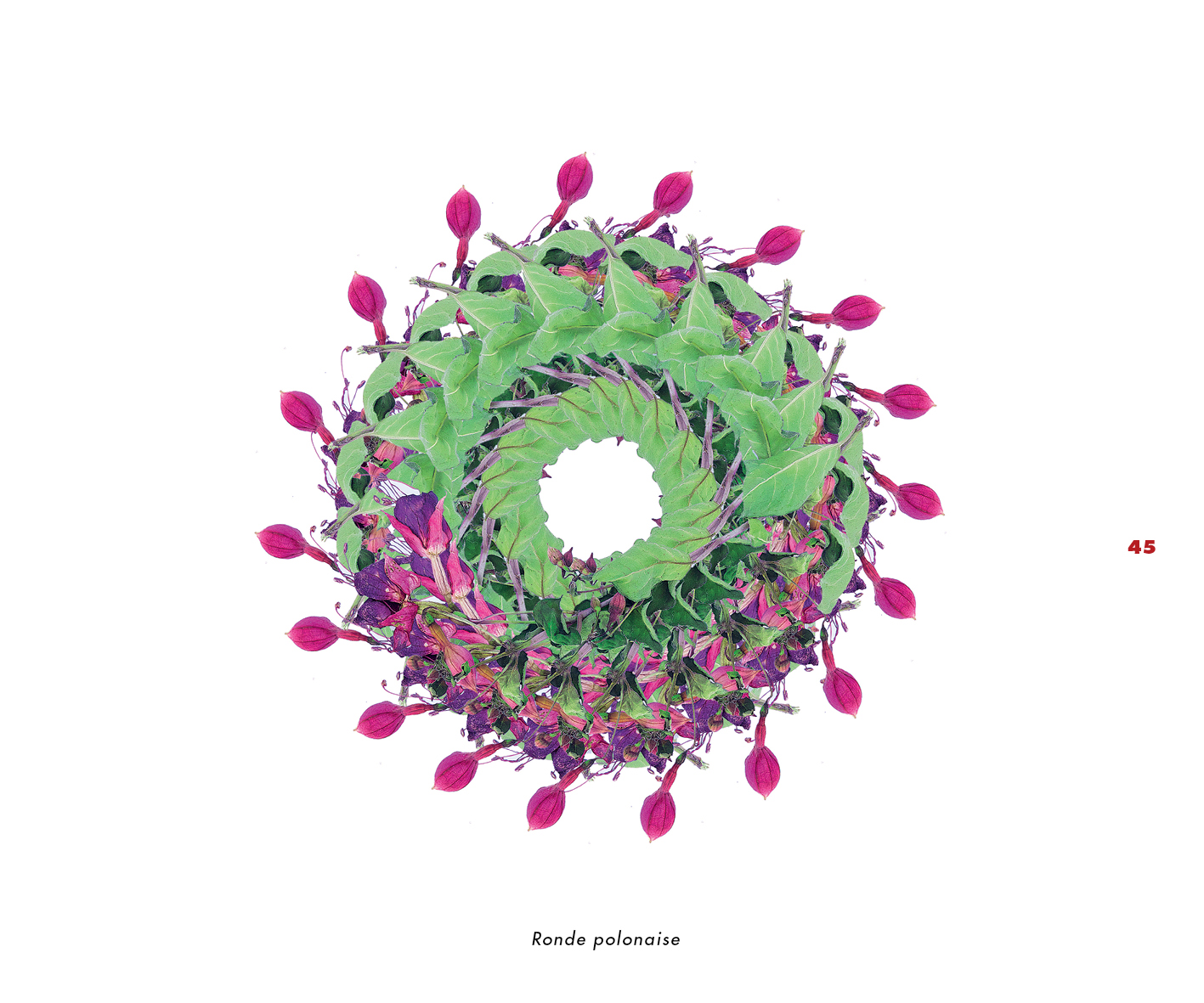 Fleurs et jardins imaginaires 45