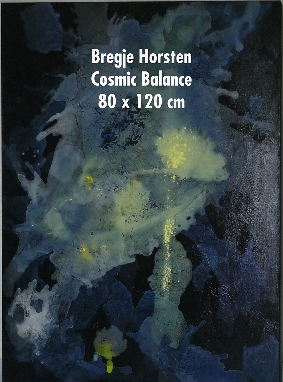 Bregje Horsten Cosmic Balance 80 x 120 c