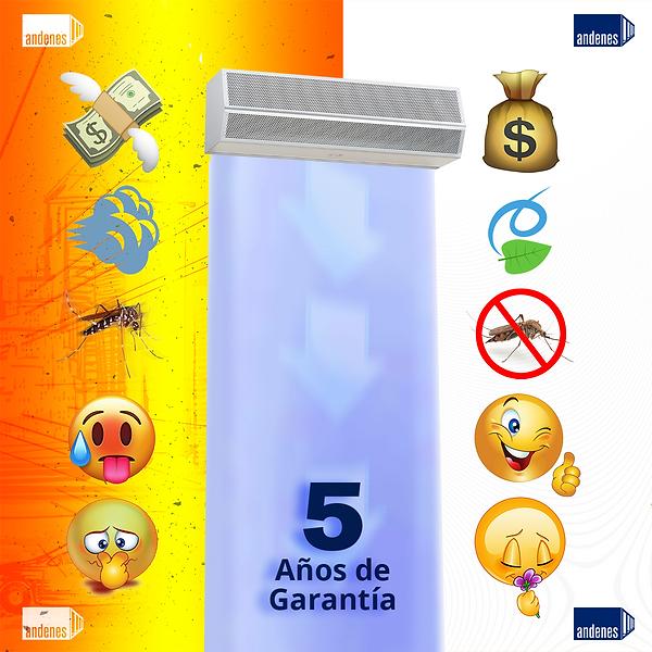 CortinasAire_5 años de garantía