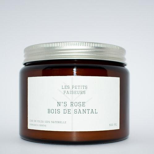 N°5 ROSE - BOIS DE SANTAL