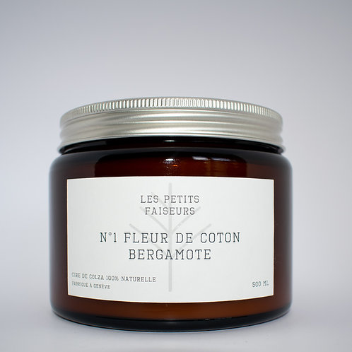 N°1 FLEUR DE COTON - BERGAMOTE
