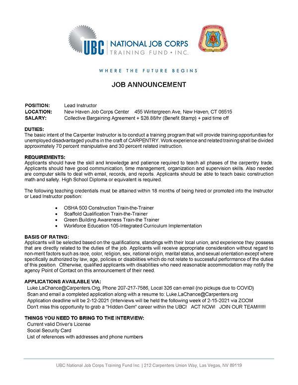 Job Announcement - New Haven.jpg
