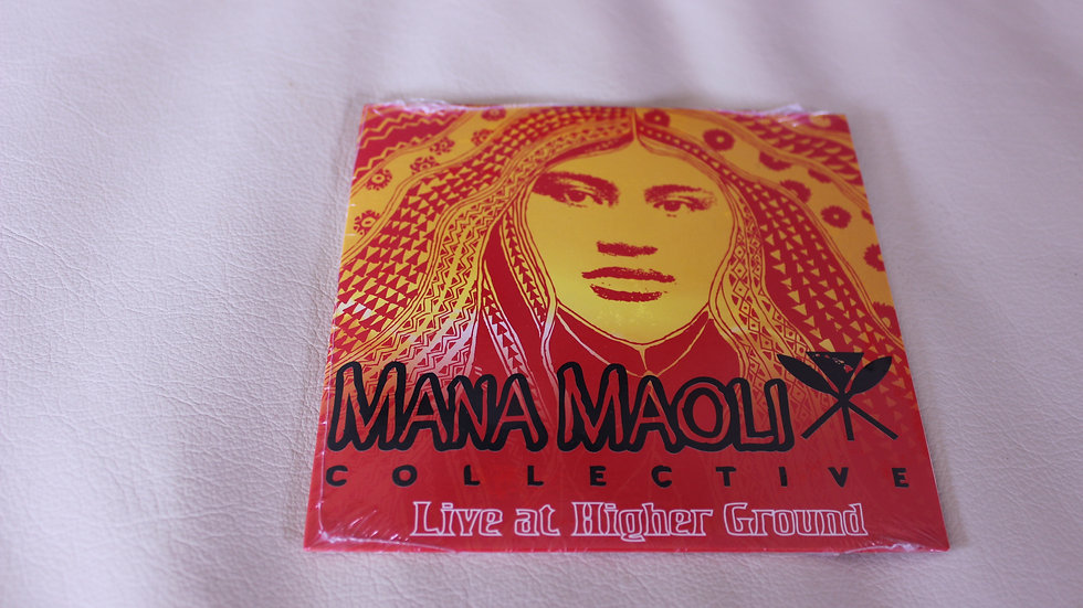 Mana Maoli CD: Live at Higher Ground