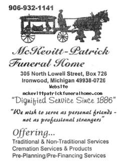 McKevitt—Patrick Funeral Home