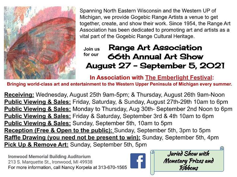 2021 Final Range Art Association 66th An