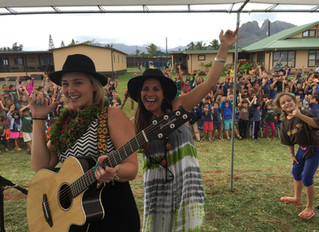 Anuhea & Kimie Help Mana Maoli Teach ABC'S Through Music at 4 Kaua'i Charter Schools