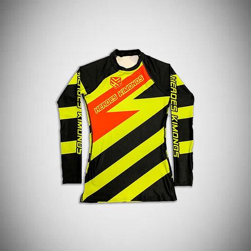 Yellow Belt Ranked Rashguard