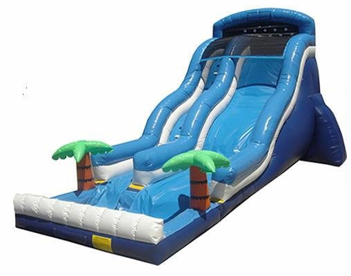 22Ft Wave Wet or Dry Slide with pool