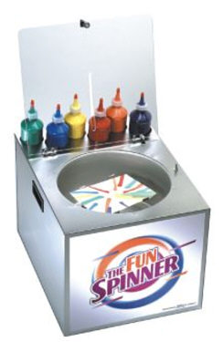 Fun Spin Art Machine Rental