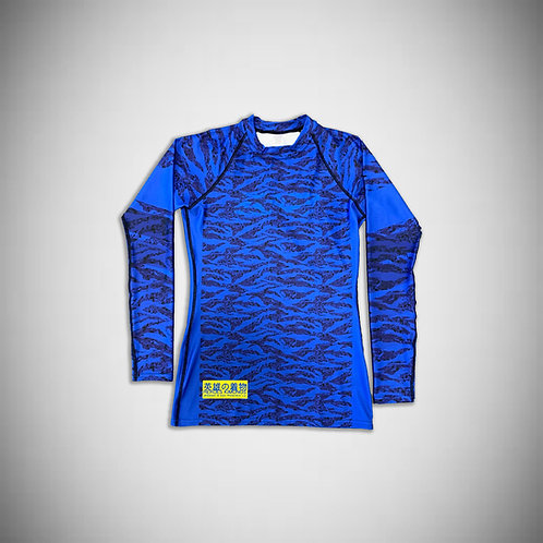 |Blue Tiger Rashguard|
